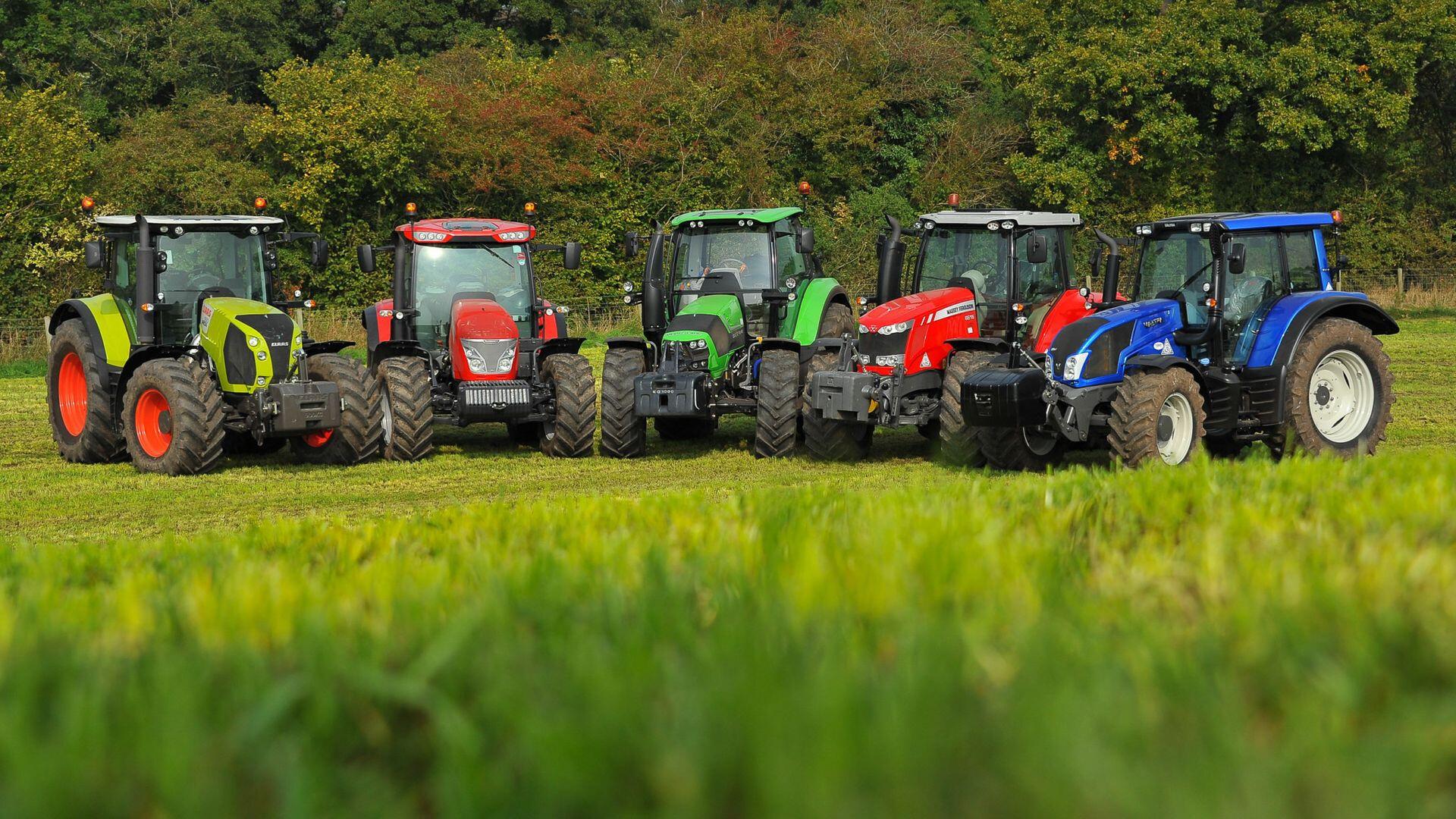 Из каких стран Украина импортирует трактора